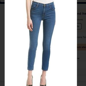 J Brand Alana High Rise Crop in Taintless 24